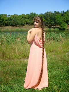 Long Hair Pictures Girl with very long braid