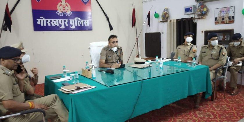 Gorakhpur News -UP में कई IPS का हुआ तबादला , दिनेश कुमार गोरखपुर के नए SSP बने।