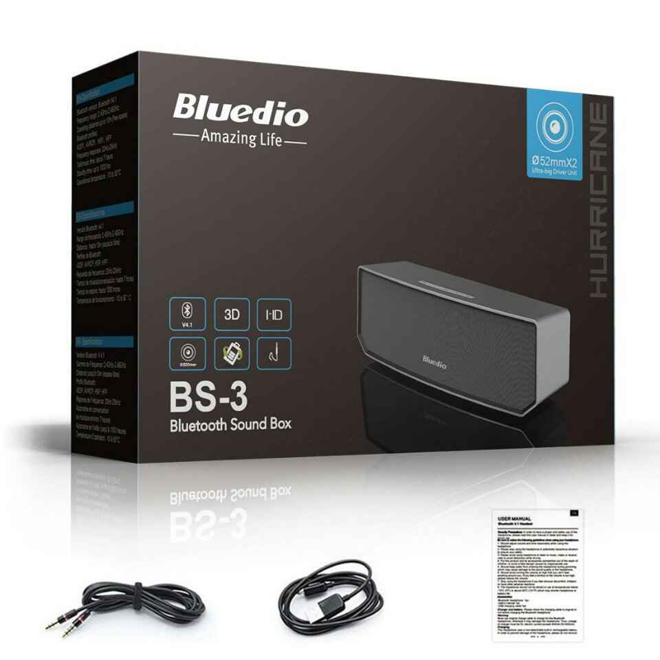 625k - Loa bluetooth Bluedio BS3 chính hãng giá sỉ và lẻ rẻ nhất