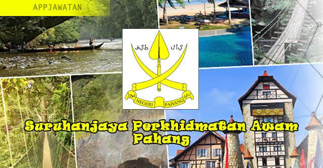 Jawatan Kosong di Suruhanjaya Perkhidmatan Awam Pahang