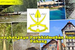 Jawatan Kosong di Suruhanjaya Perkhidmatan Awam Pahang  - Terbuka 2019