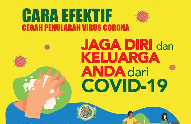 Cegah Penularan Virus