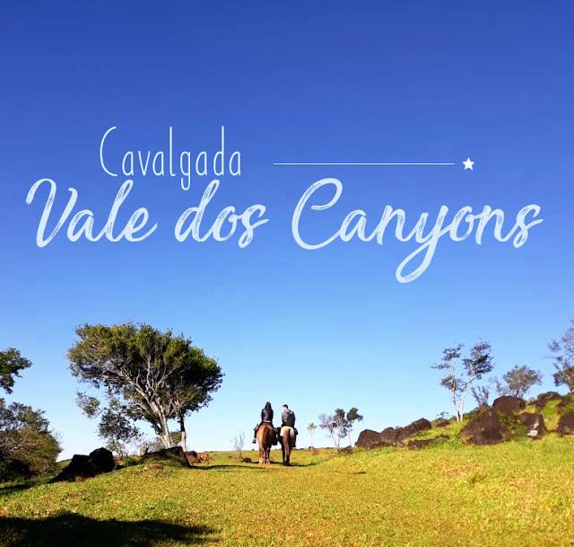 Cavalgada pelos canyons