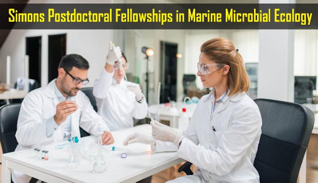 Simons Postdoctoral Fellowships in Marine Microbial Ecology 2019 - BivashVlogs
