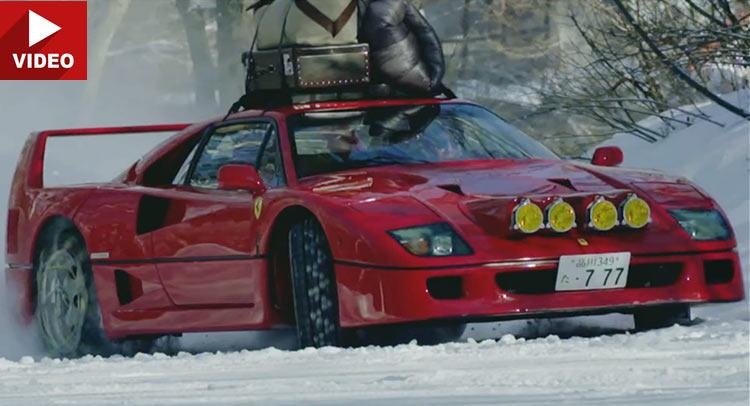 Bạn có tin được siêu xe Ferrari có thể off-road không?