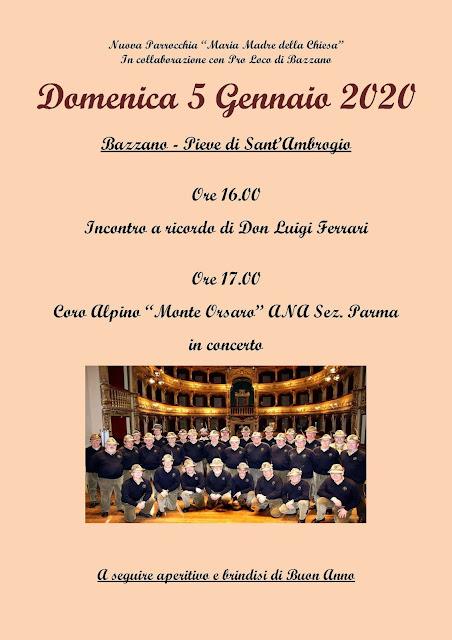 Coro Alpino Monte Orsaro Ana Sez Parma