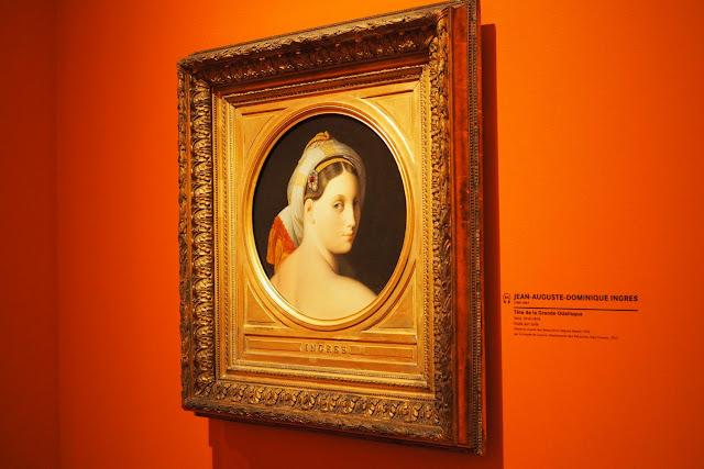 Musée Marmottan Monet - L'orient des peintre - Grande Odalisque - Ingres