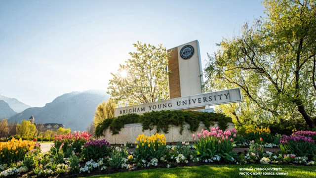 Brigham Young University sign