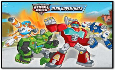 Transformers Rescue Bots: Hero (Mod Unlocked) + Data For Android