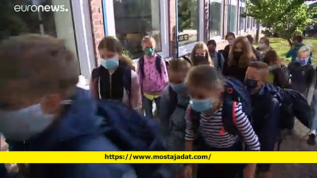 شاهد: عودة الطلاب إلى المدارس في ألمانيا مع ضرورة احترام بعض القيود الصحية