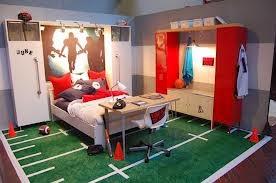 Habitación infantil temática deportiva