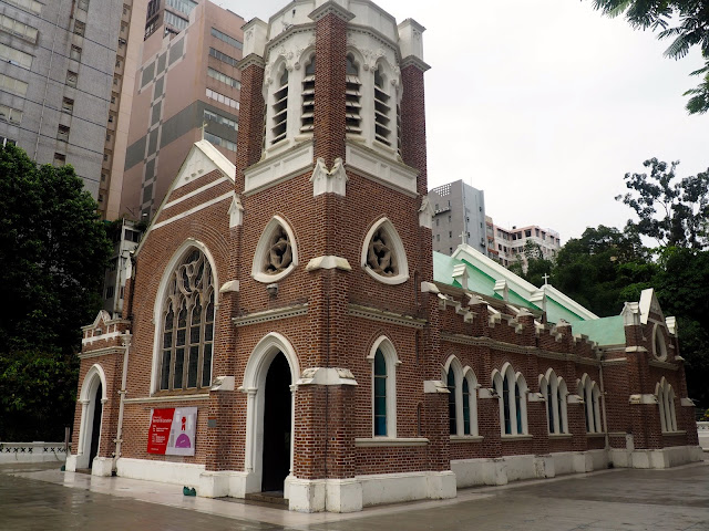St Andrew's Church, TST, Kowloon, Hong Kong