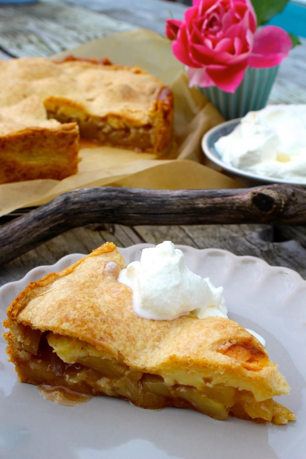 Apple-Cheesecake oder der leckerste Apfelkuchen, den ich je gebacken habe