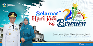 Billboard HUT Kabupaten Bireuen Ke 21 Tahun 2020
