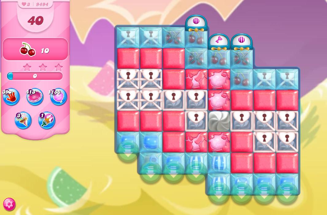 Candy Crush Saga level 9494