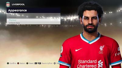PES 2021 Faces Mo Salah