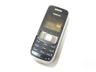 Casing Ponsel Nokia 1209 Jadul New Original Fullset