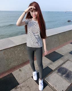 Gái xinh facebook Thanh Trần