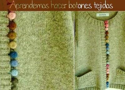 Como hacer Botones de Crochet