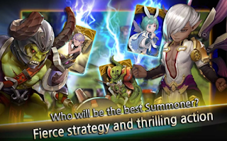 Download Game Summon Rush V1.0 MOD Apk ( Unlimited Money / High Damage )