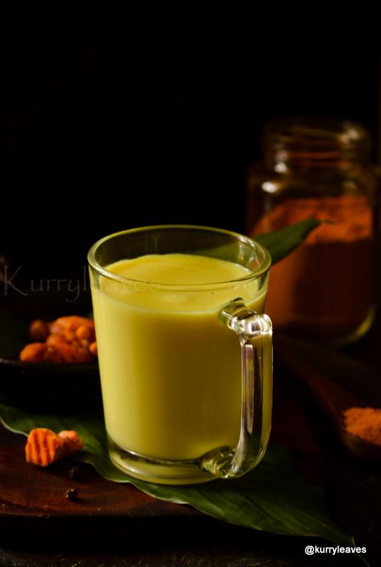 immunity boosting turmeric milk