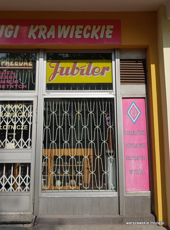 Warszawa Warsaw szyld retro tabliczka jubilet