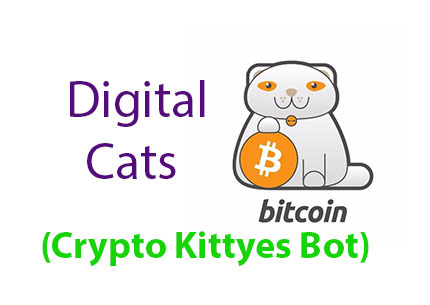 Digital Cats (Crypto Kittyes Bot) Telegram Bot Earn Bitcoin