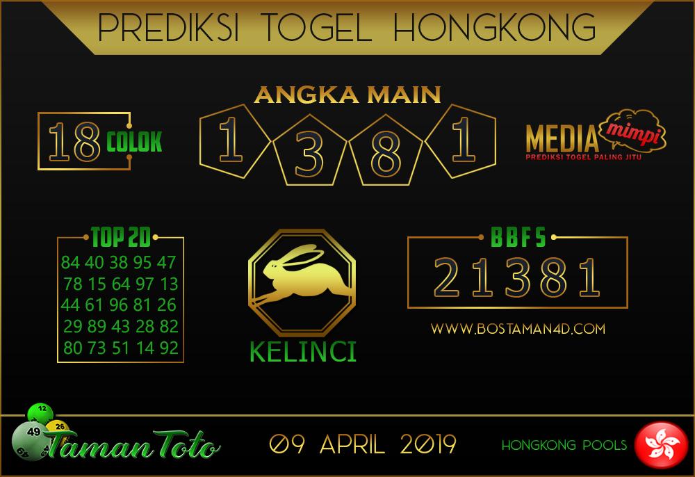 Prediksi Togel HONGKONG TAMAN TOTO 08 APRIL 2019