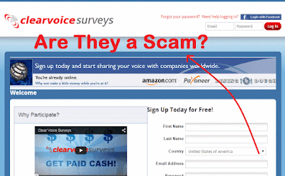Clear Voice Surveys Website Review