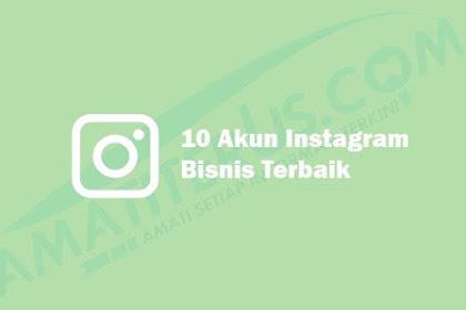 10 Akun Instagram Bisnis Terbaik dan Terpopuler