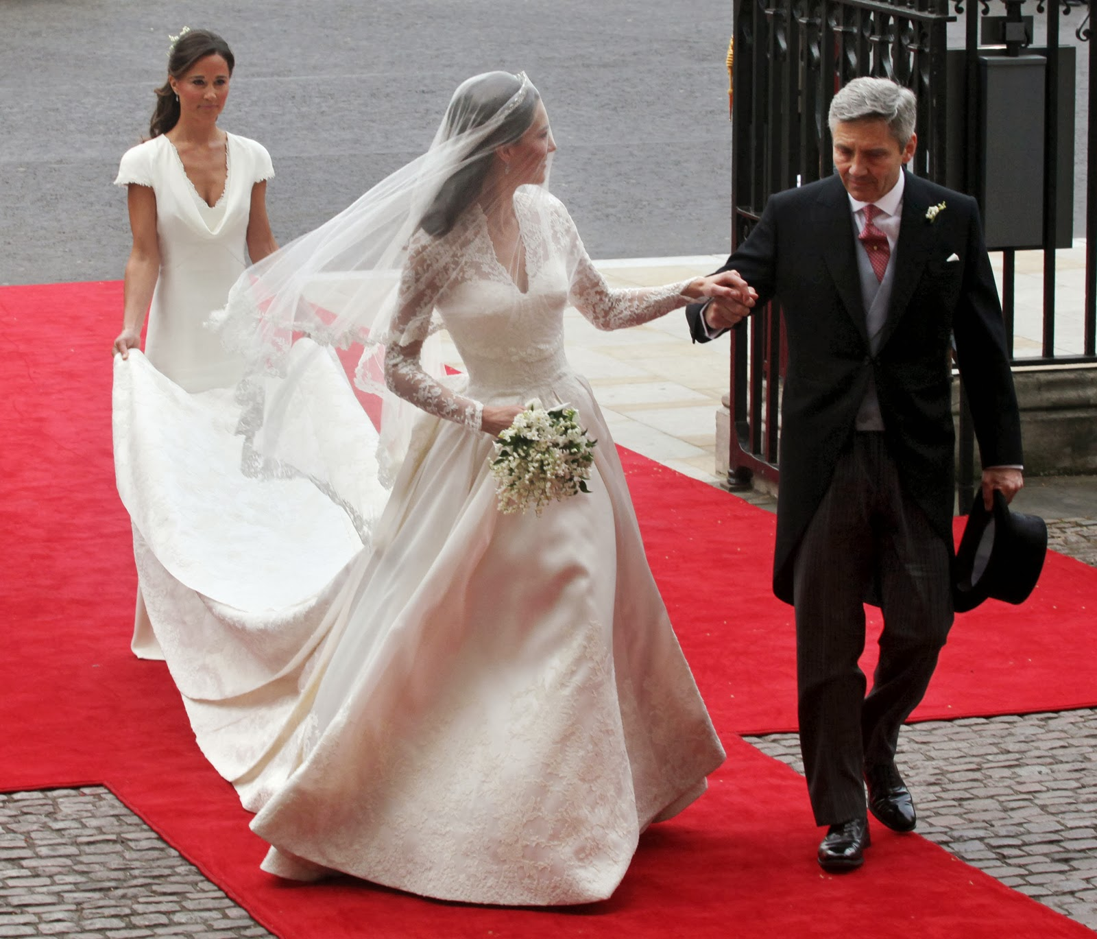 Miss Middleton S Style Wedding Dress