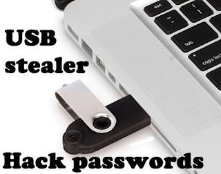USBStealer - أداة اختراق كلمة السر لتطبيقات ويندوز لأداء اختبار الاختراق ويندوز