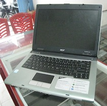 jual laptop second acer travelmate 2480