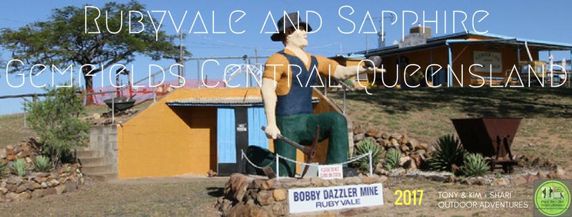 RUBYVALE & SAPPHIRE GEMFIELDS, CENTRAL QUEENSLAND. AUSTRALIA