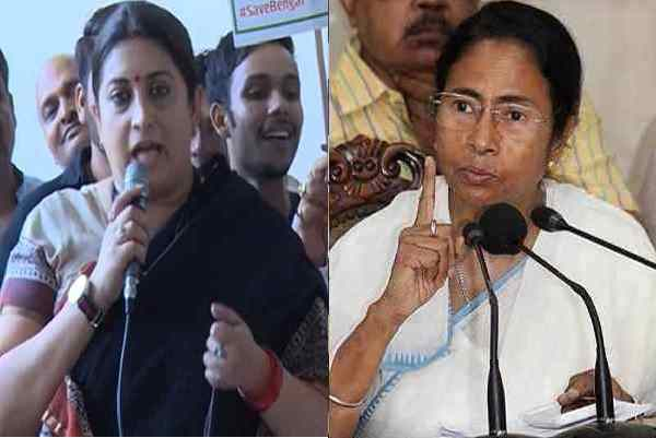 smriti-irani-slams-mamata-banerjee-for-islamikaran-of-bengal