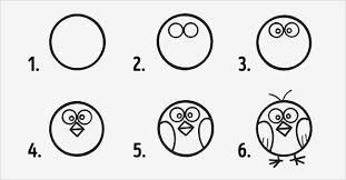 Dibujos a partir de un círculo