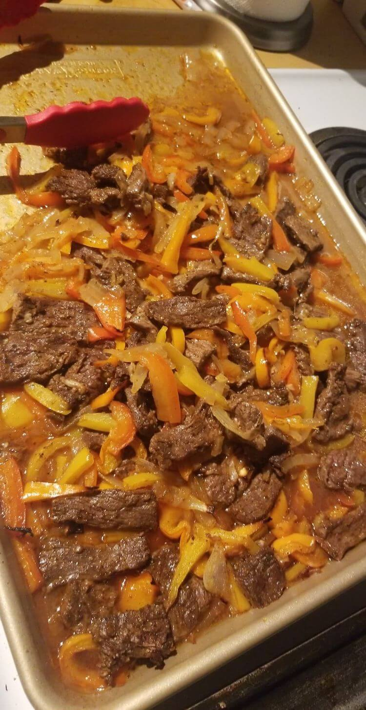 Homemade Steak Fajitas: Beef Steak Fajitas Recipe