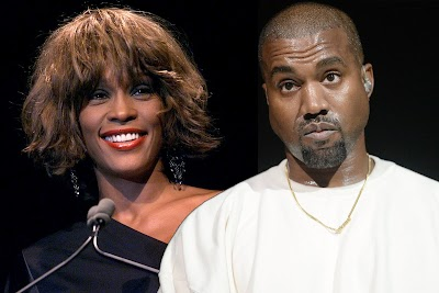 Kanye Pays $85,000 to get photo of Whitney Houston's Drug-littered Bathroom for his Album Cover