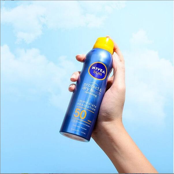 sunscreen nivea sun