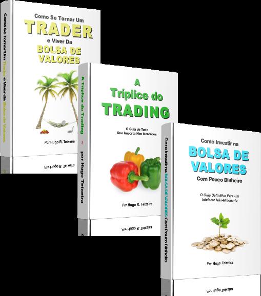 Kit e-Books SenhorMercado - Como Se Tornar Um Trader e Viver da Bolsa de Valores