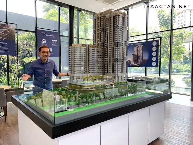 The COMO is a freehold low-density condominium located in the vicinity of Bukit Jalil.
