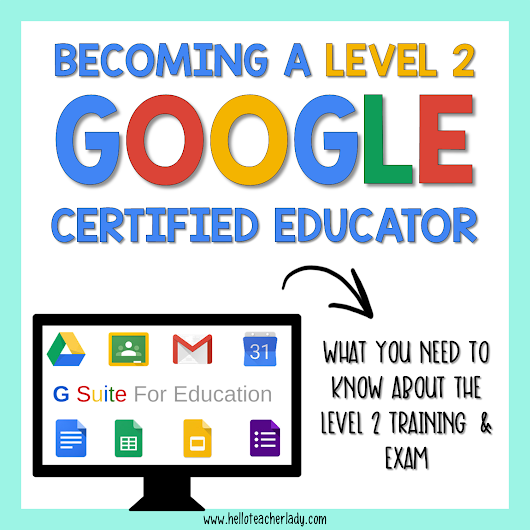 How to Become a Google Certified Educator: Level 2