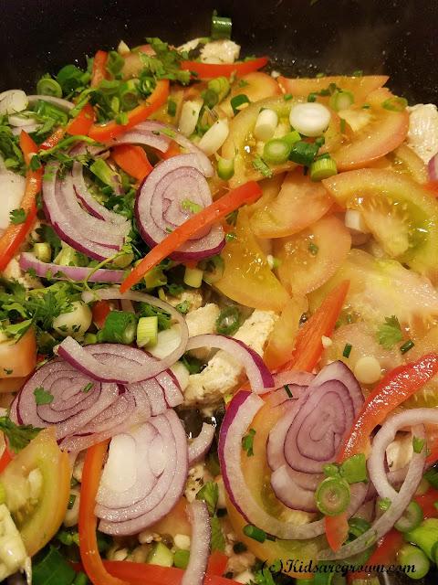Vegetables for Fajitas