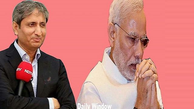 पहली तिमाही की जीडीपी -23.9 प्रतिशत, मोदी जी आपका कोई विकल्प नहीं है - रवीश कुमार