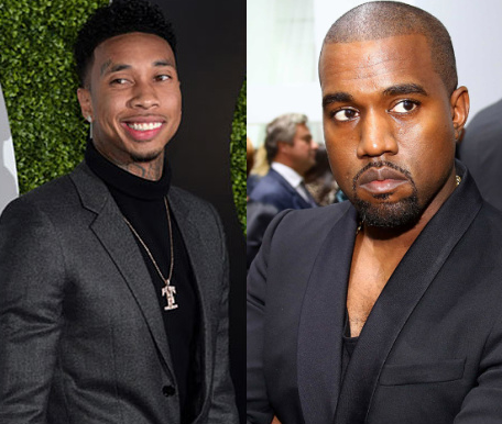 kanye west signs tyga to good music