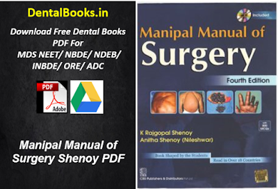 Manipal Manual of Surgery Shenoy PDF DOWNLOAD
