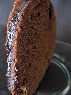 new sept+067a Sour Cream Chocolate Bundt Cake with Chocolate Glaze