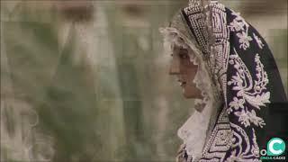 Vídeo de Nuestra Señora de la Soledad entrando en la SI Catedral en la Semana Santa Cádiz 2019
