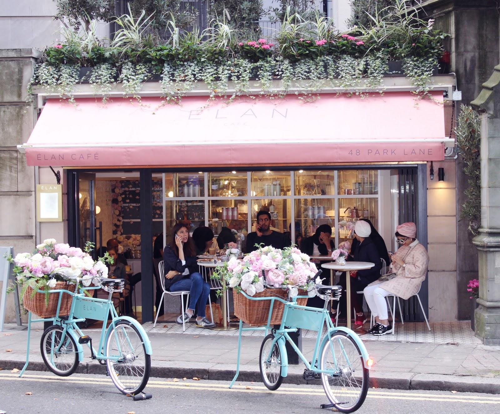 Elan Cafe, Park Lane, London