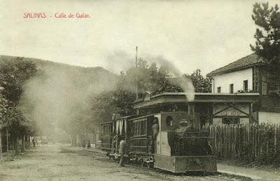 postal, Salinas, ferrocarril, tranvía